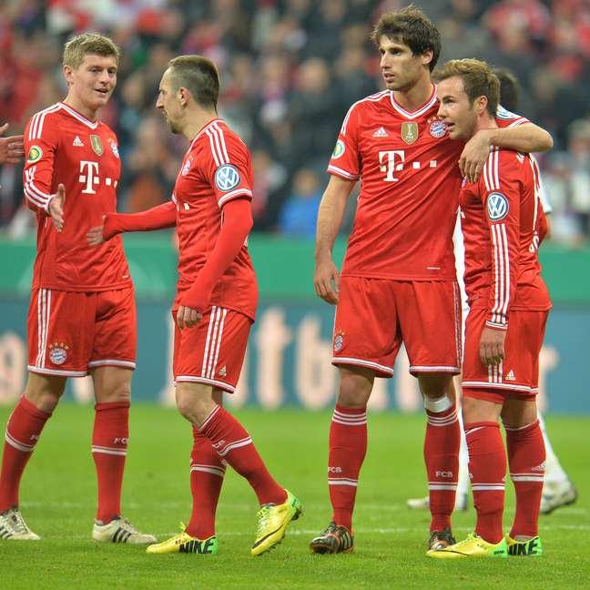 Bayern passou pelo Kaiserslautern com tranquilidade