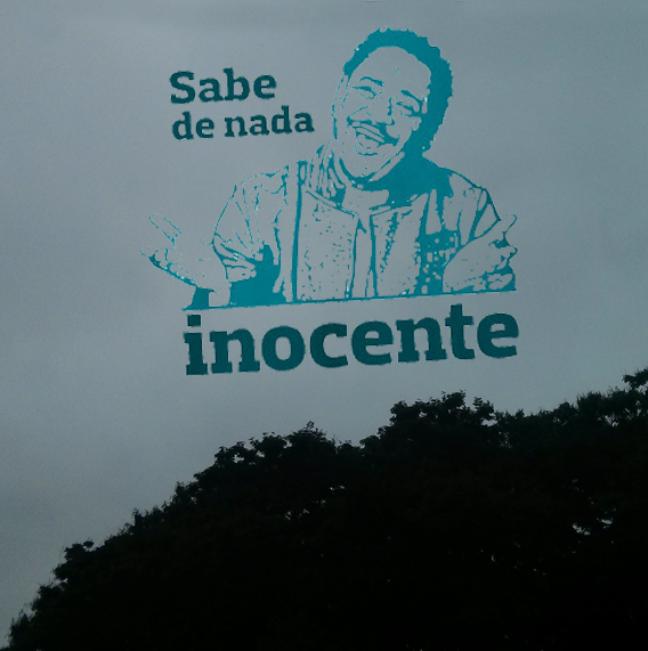 """Sobre a notícia de que Curitiba fosse ver o eclipse lunar, o tempo nublado respondeu: """"Sabe de nada, inocente"""""""