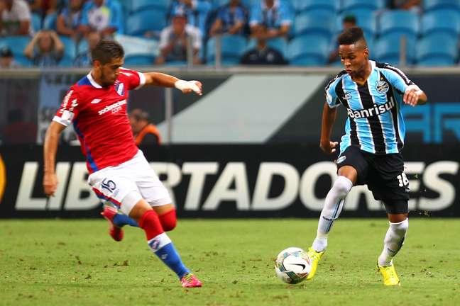 <p>Grêmio recebeu convite do novo time de Wendell</p>