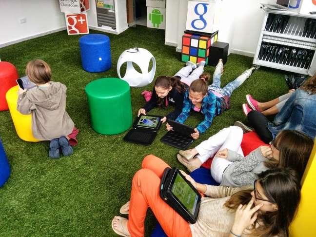 Google Learning Space no Colégio Mater Dei, em São Paulo