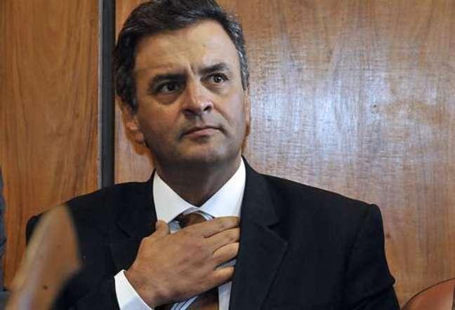 <p>Aécio Neves candidato do PSDB à presidência</p>