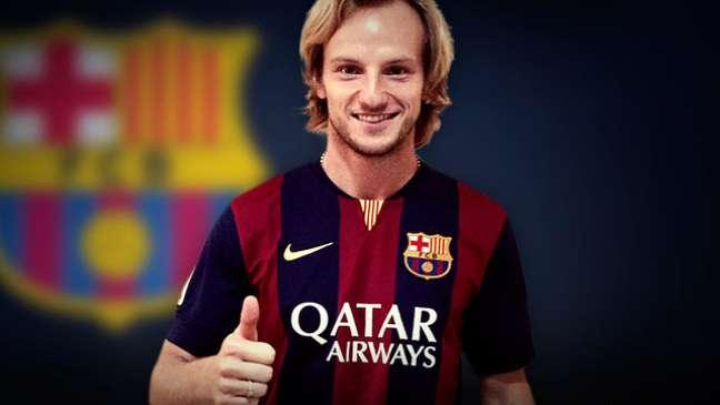 Rakitic é o novo reforço do Barcelona