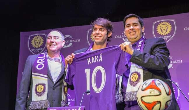<p>Futuro camisa 10 do Orlando City, Kaká disse que foi para MLS por causa do potencial da liga americana</p>