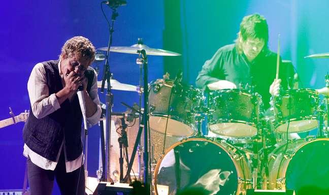 Zek Starkey, filho de Ringo e baterista do The Who
