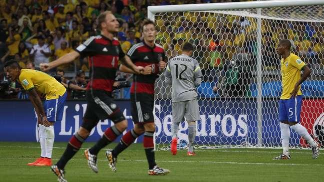 <p>Alemanha massacrou o Brasil no Mineirão</p>
