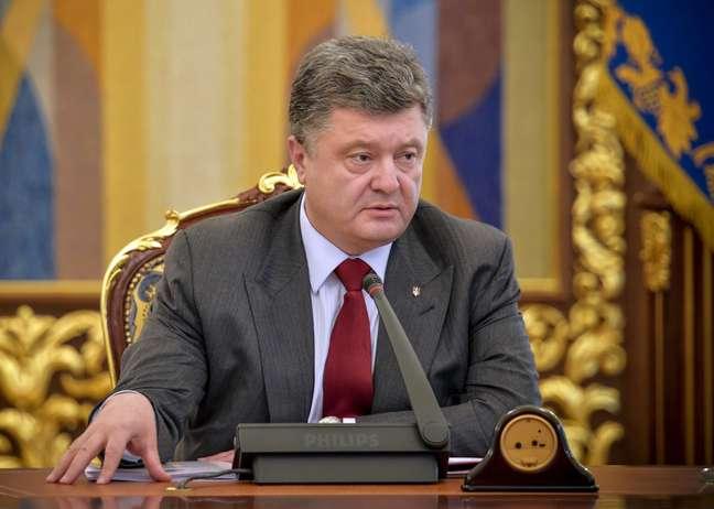 """Poroshenko afirmou ter convicção de que se trata de um """"ato terrorista"""""""