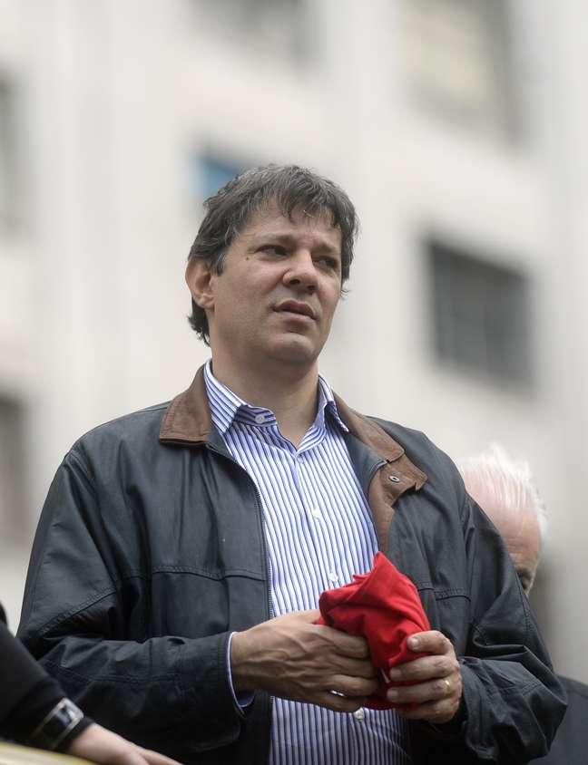 <p>Prefeito de São Paulo, Fernando Haddad tenta solução para o Pacaembu</p>