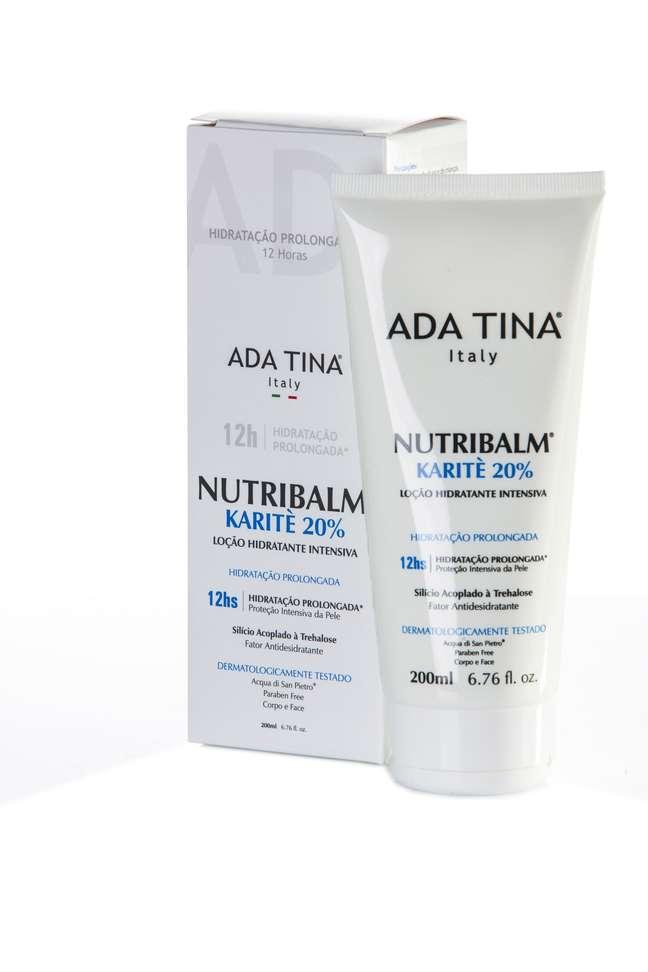 Livre de parabenos, o produto promove até doze horas de hidratação sem deixar a pele com aparência oleosa