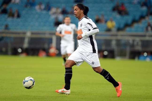 <p>Ronaldinho deixou o Atl&eacute;tico-MG ap&oacute;s dois anos</p>