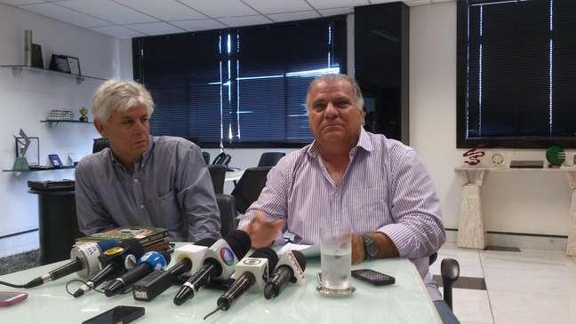 Presidente Odílio convocou toda imprensa para uma coletiva sobre os sócios fantasmas