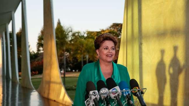 <p>Dilma Rousseff, candidata à reeleição pelo PT</p>