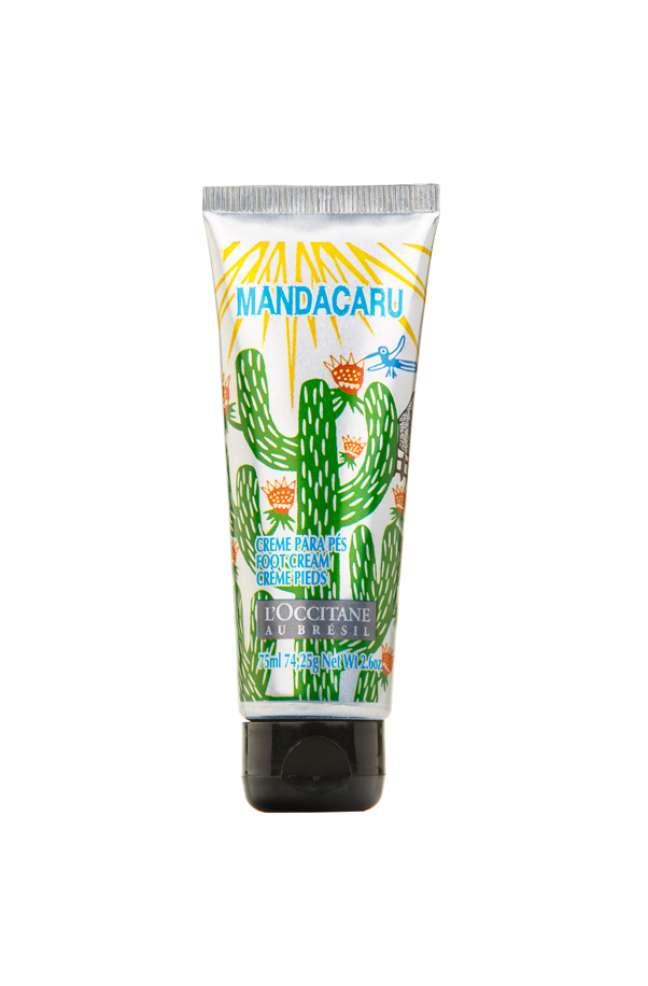 <p><em>Creme Desodorante para Pés Mandacaru </em>recuperae revitaliza a pele dos pés e tornozelos</p>
