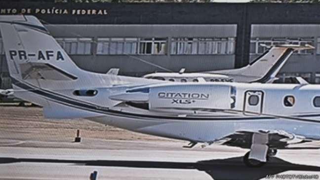 <p>O avião usado pelo ex-governador Eduardo Campos foi financiado por diversas empresas</p>