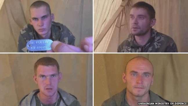 <p>A Ucrânia libertou dez soldados russos detidos há uma semana depois de atravessarem ilegalmente a fronteira</p>