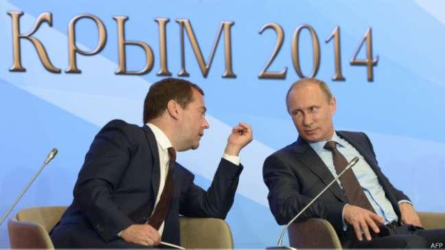 <p>O governo russo é alvo de críticas dos líderes europeus e dos Estados Unidos por sua ação no conflito</p>