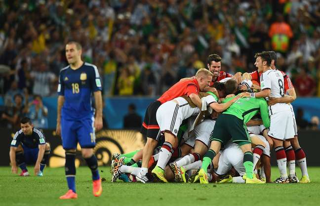 Alemanha conquistou o tetracampeonato sobre a Argentina