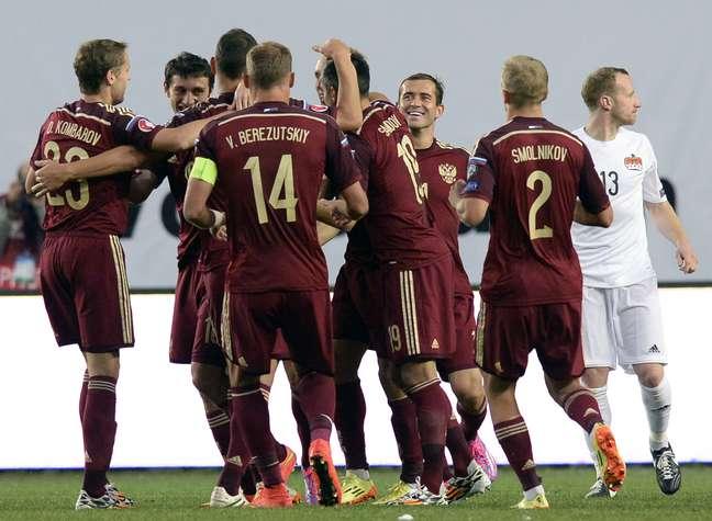 Rússia goleou Liechtenstein
