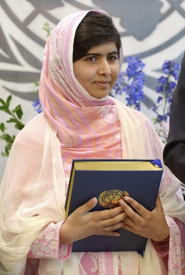 <p>A paquistanesa venceu o Prêmio Nobel da Paz ao lado do indianoKailash Satyarthi nesta sexta-feira</p>