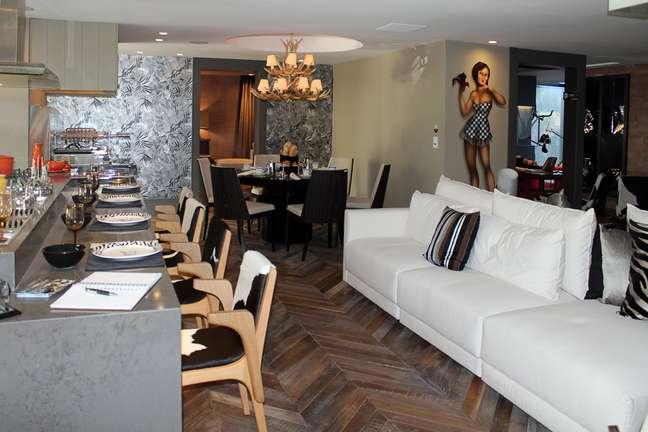 QG do Chef, de Sandro Jasnievez, tem o espaço de refeições como núcleo central