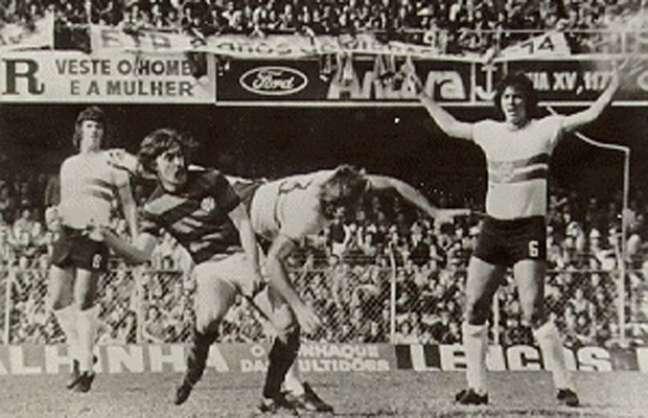 Sicupira é o maior artilheiro da história do Atlético-PR, com 154 gols