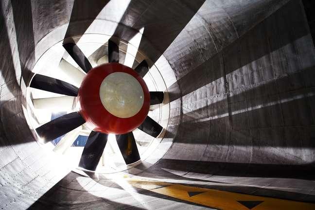 <p>Investimento em túnel de vento é de US$ 60 milhões</p>