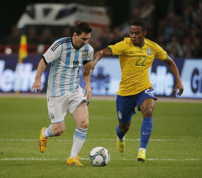 No último Superclássico, disputado na China, Brasil venceu por 2 a 0