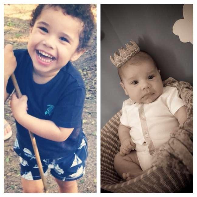 <p>Zezé posta foto dos filhos de Wanessa</p>