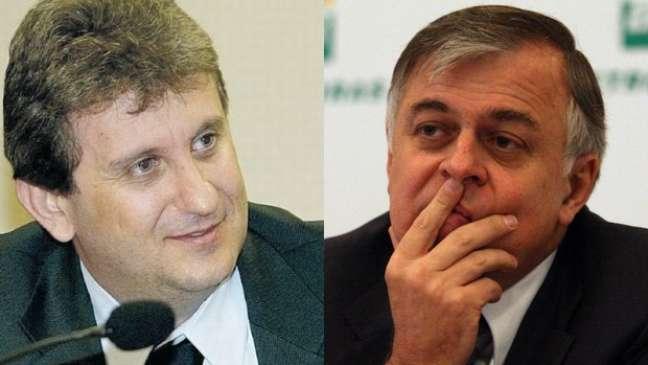 <p>Na atualidade, o debate sobre a delação premiadaenvolve os nomes do doleiro Alberto Youssef (à esq.) e do ex-diretor de Abastecimento da PetrobrasPaulo Roberto Costa</p>