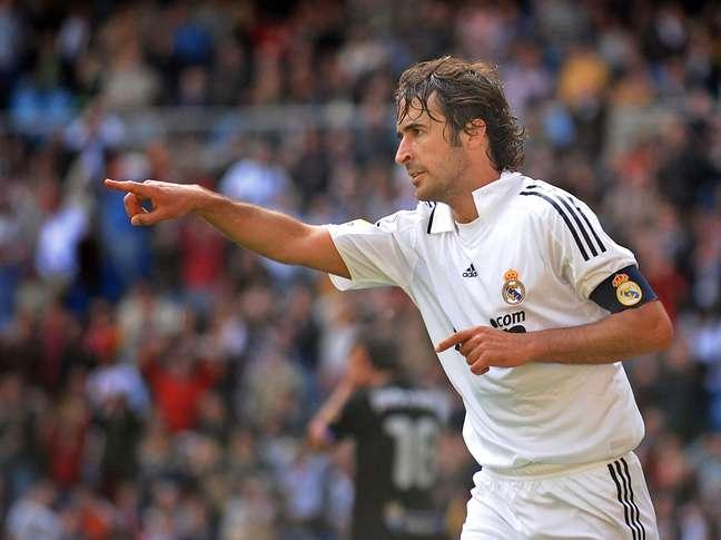 <p>Raúl é o novo reforço do New York Cosmos</p>