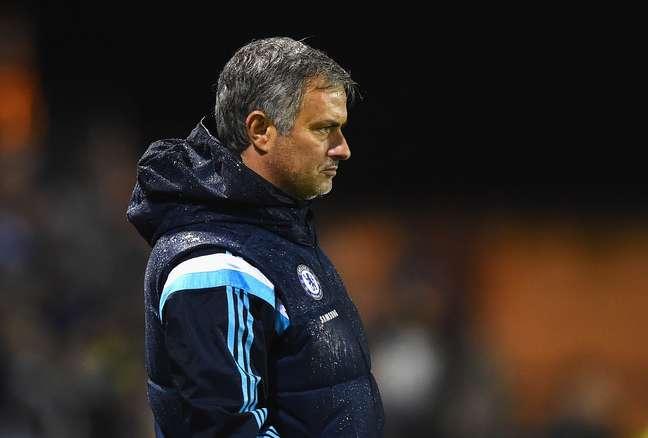 <p>Mourinho envolveu-se em atrito com Espanha</p>