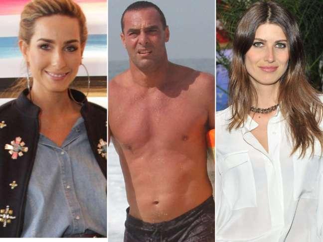 <p>Mariana Weickert, Paulo Zulu e Michelle Alves desfilarão pela grife</p>
