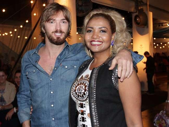 <p>Gaby Amarantos foi uma das celebridades que conferiram o desfile da TNG, que fechou o SPFW nesta sexta-feira (07)</p>