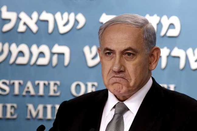 <p>Primeiro-ministro de Israel, Benjamin Netanyahu</p>