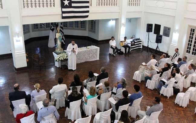Missa para Roberto Porto no Botafogo