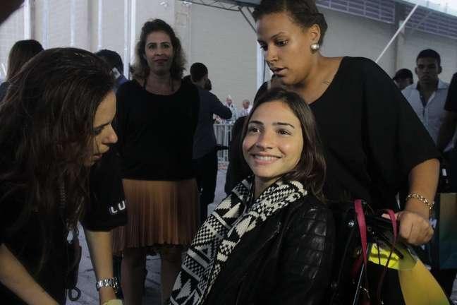 <p>Laís Souza participou da inauguração do Instituto Neymar Jr. no fim do ano passado</p>