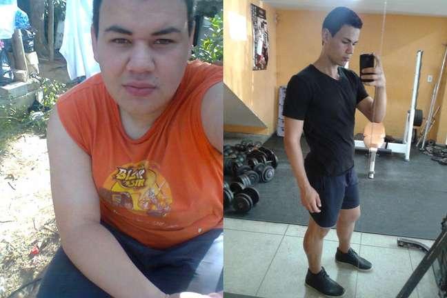 <p>Rafael emagreceu 53 quilos com reeducação alimentar e exercícios</p>