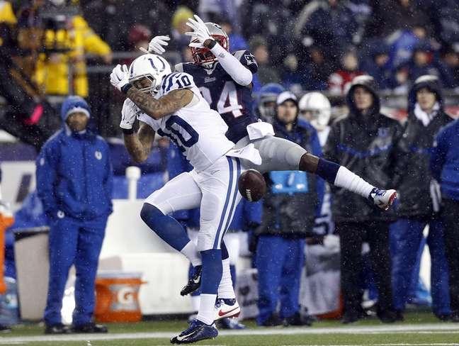 Patriots x Colts teve 11 de 12 bolas murchas no ataque dos mandantes no 1º tempo