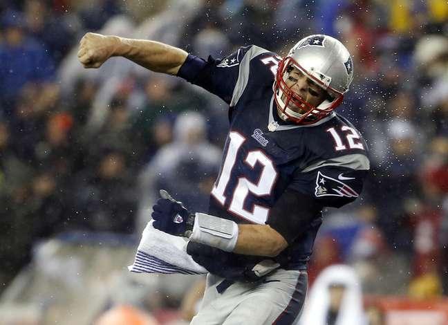 <p>Quarterback voltou a dizer que n&atilde;o teve participa&ccedil;&atilde;o no esvaziamento de bolas do jogo contra os Colts</p>