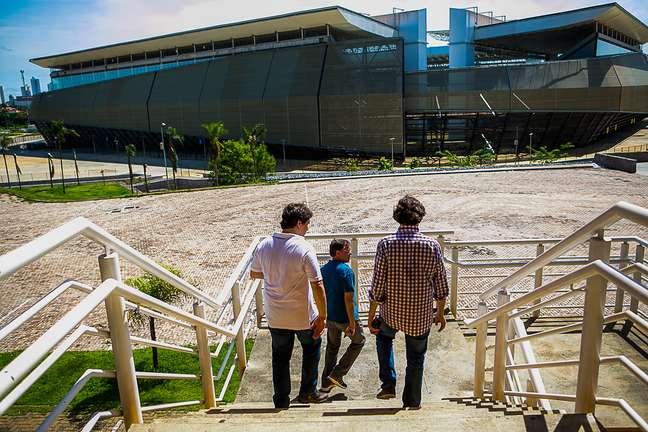 Arena Pantanal está interditada