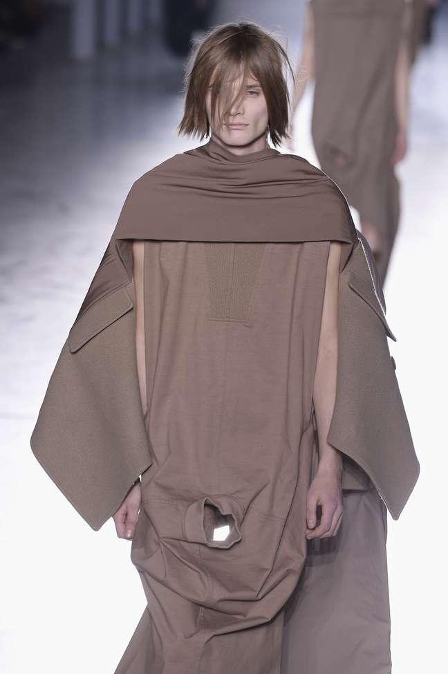 Desfile de Rick Owens na semana de moda masculina de Paris