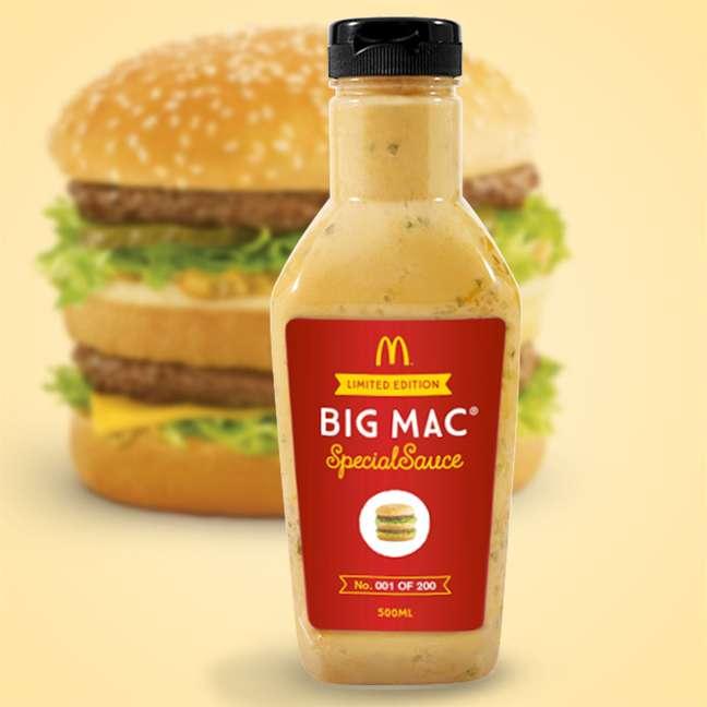 <p>Pela primeira vez, McDonald's vende um de seus molhos prontos</p>