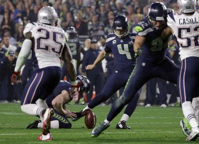 Seahawks foram os primeiros a marcar no segundo tempo, em um field goal de Steven Hauschka
