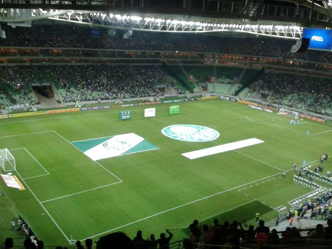 <p>Estádio alviverde ganhou votação feita por ingleses</p>