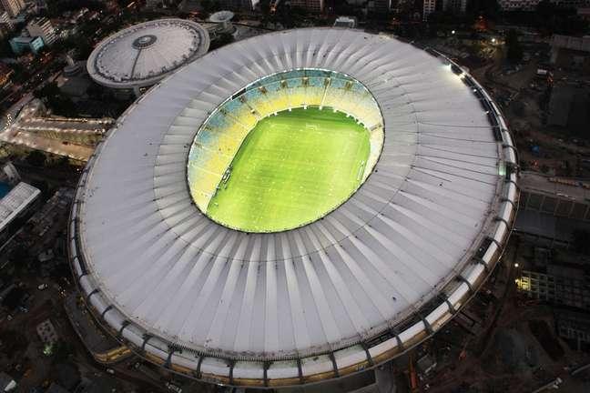 Estádio Maracanã, no Rio