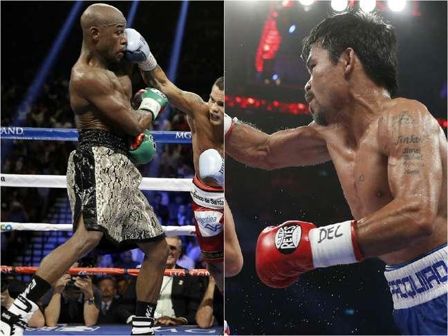 <p>Americano e filipino farão o combate mais esperado do boxe</p>