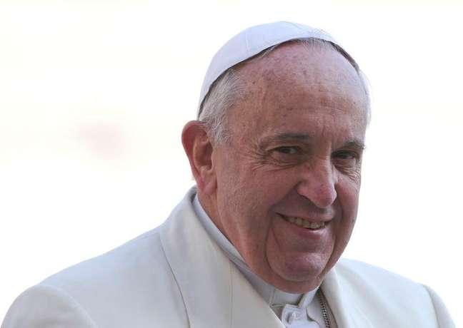 Papa Francisco na Praça de de São Pedro, no Vaticano. 11/03/2015
