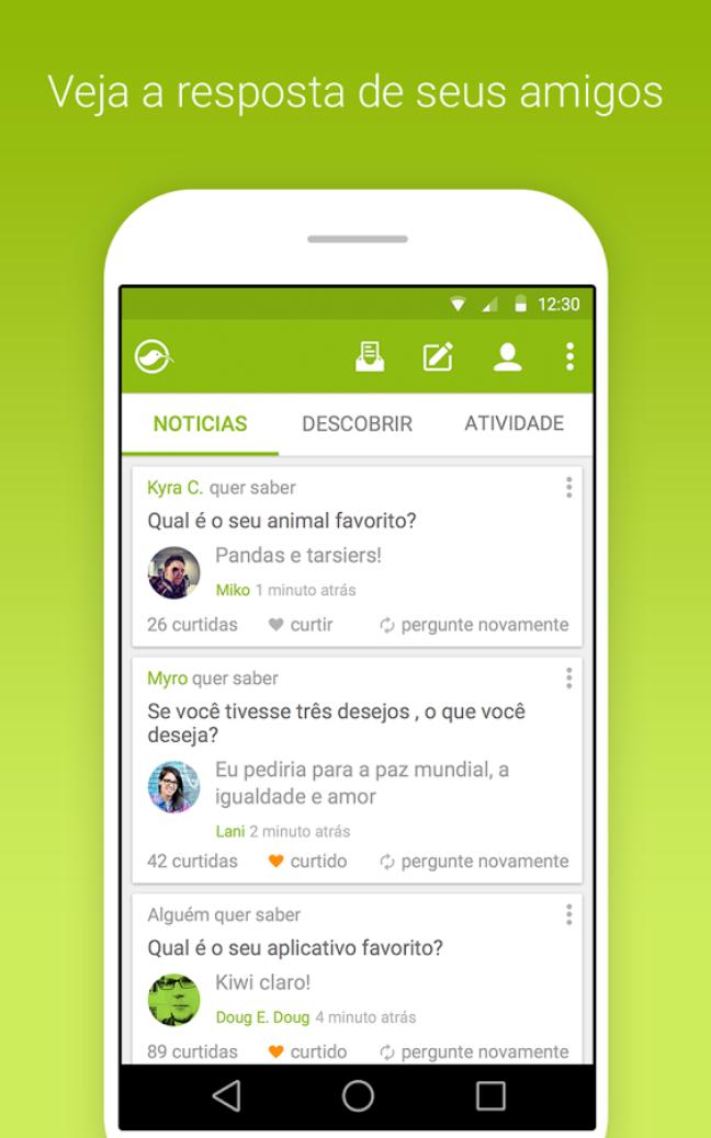 <p>Criado por uma empresa de San Francisco, Estados Unidos, já possui versões do aplicativo em português para iOS e Android</p>