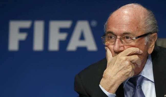 Presidente da Fifa Joseph Blatter não foi preso na operação desta quarta