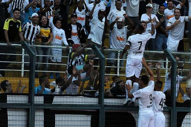 <p>Santos jogou três vezes no estádio em 2015, duas dela como mandante</p>