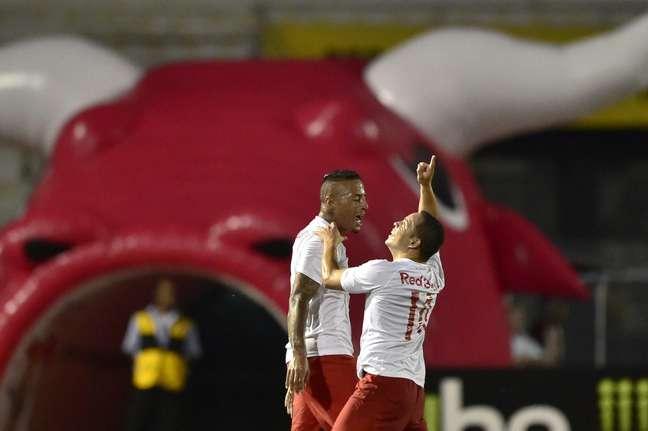 <p>Lulinha foi bem em vitória do Red Bull sobre Palmeiras</p>